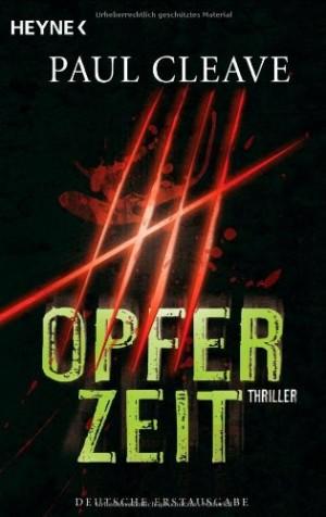 Cover: Opferzeit